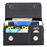 Wdckxy HNZZ, Étui à rabat vertical en cuir PU avec attelle arrière et emplacements pour cartes et...