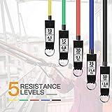 Zoom IMG-1 disuppo elastici fitness di resistenza