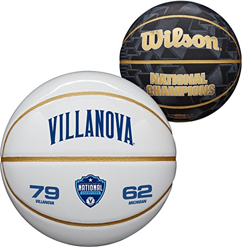 Review Sports Memorabilia Villanova Wildcats 2018 NCAA Men's Basketball National Champions Wilson Of...