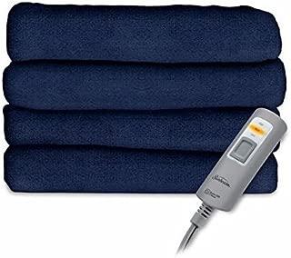 Sunbeam Velvet Plush Heated Throw Blanket 60