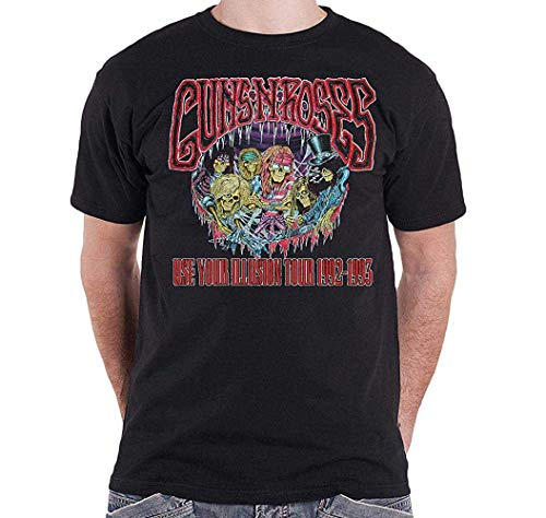 Guns N Roses Use Your Illusions Tour 1992-1993 Mens T-Shirt (X-Large)
