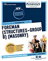 Foreman: Structures-group B Masonry (Career Examination)