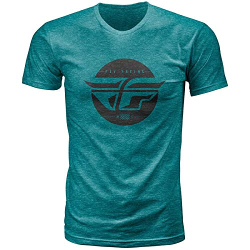 Fly Racing Inversion T-Shirt (Large) (Emerald)