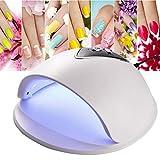 48W Lámpara De Uñas Ligera LED Secador De Uñas Gel De Uñas Esmalte De Uñas Curado Herramienta De Secado De Manicura(01)