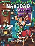 Navidad: Mi primer gran libro para colorear: Libros para colorear de Navidad para niños  Regalo de Navidad ideal o regalo para niños pequeños  100 hermosos motivos invernales para niños y niñas