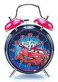 Disney-Pixar Cars Twin Bell Alarm Clock: Lightning McQueen