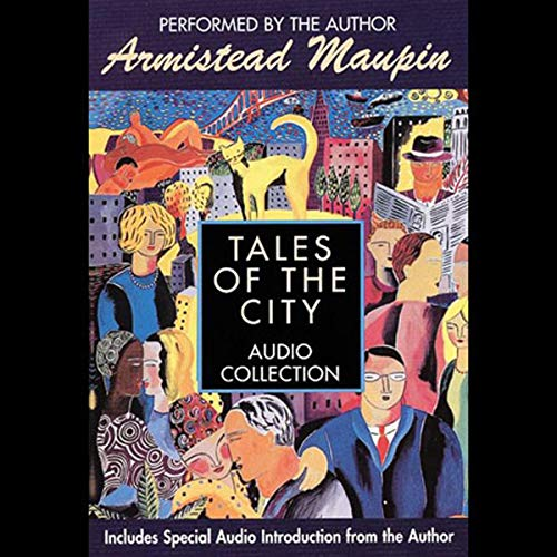 Tales of the City audiobook cover art