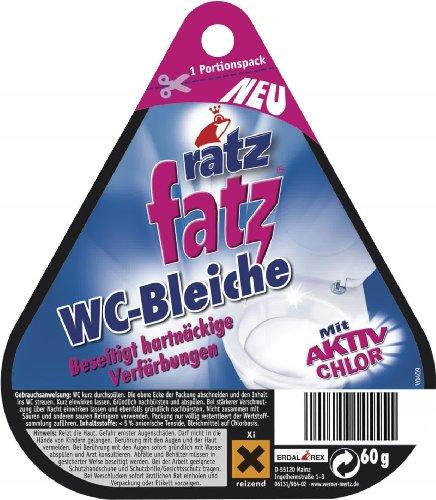 Ratz Fatz WC-Bleiche, 12er Pack (12 x 60 g)