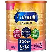 Enfamil Complete 2 - Leche Infantil de Continuación para Lactantes Bebés de 6 a 12 Meses, 800 gr