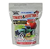Tomato & Vegetable 5-3-3 Organic Fertilizer with MYKOS Mycorrhizae, 2.2 Pound...
