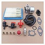 Filtro de Aire para cortacésped Kit de Filtro de Aire de carburador Compatible con Briggs & Stratton 799868 498254 497347 497314 498170 Carb Gold 6.25 6.75HP Push Mower 675 190cc Filtrar