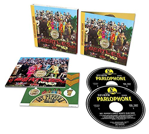 Price comparison product image The Beatles' 50th Anniversary of Sgt Pepper's Lonely Hearts Club Band (Deluxe 2CD). EU Import