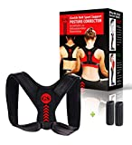 Posture Corrector for Women and Men + Underarm Pads - Back Support for Women & Men Back Support Posture Brace for Shoulder and Back Pain Relief