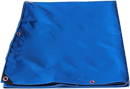 XUEYAN La Couverture extérieure de Camion épaississent Les couvertures imperméables de Feuille de Sol de bache de Tarpauline résistante pour Camper, 450G   M2 (Taille   4mx6m)