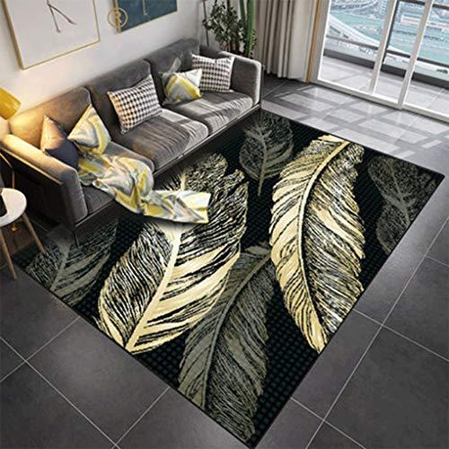 Fashion Carpet Living Room Sofa Floor Mats Large Area Modern Minimalist Bedroom Room Full Of Bedside Blanket Household (Color : L, Size : 80 * 120cm)