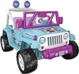 Power Wheels Disney Frozen Jeep Wranglerz