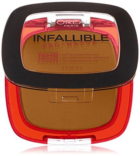 L'Oreal Paris Infallible Pro-Matte Powder, Golden Beige, 0.31 Ounce