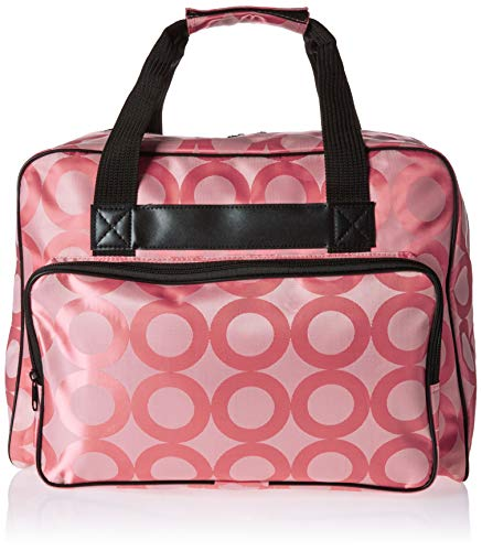 Janome Pink Universal Sewing Machine Tote, Canvas