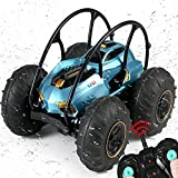 RC Cars for Kids,Waterproof Remote Control Boat,360°Rotating and 40 KM/H All Terrain Remote Control Car,2.4Ghz 4WD Off Road Monster Trucks,50+ Min Play Gift for Boy Girl Adults