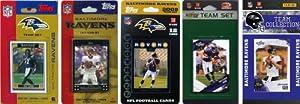 NFL Baltimore Ravens 5 Different Licensed Trading Card Team Sets