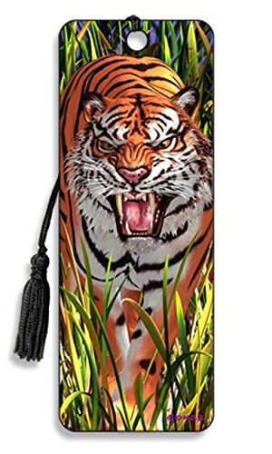 3D Bookmark - Tiger Trouble - Cheatwell Games