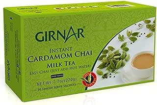 Girnar Instant Chai/Tea Premix With Cardamom, 10 Sachet Pack