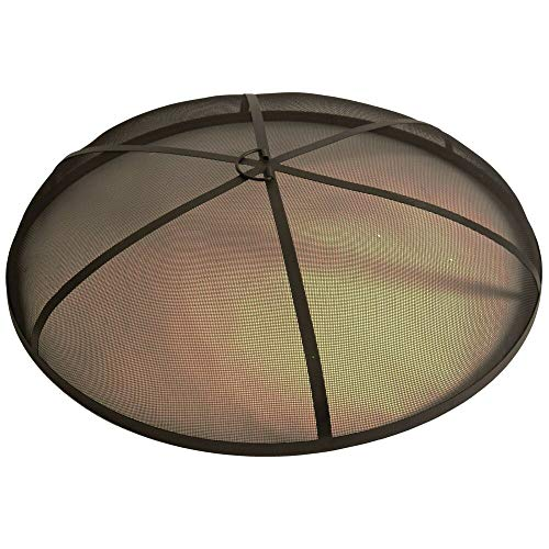 Bluegrass Living 1 Pc of 36 Inch Steel Fire Pit Spark Screen Cover