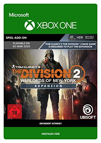Tom Clancy's The Division 2 Warlords of New York Expansion | Xbox One - Download Code