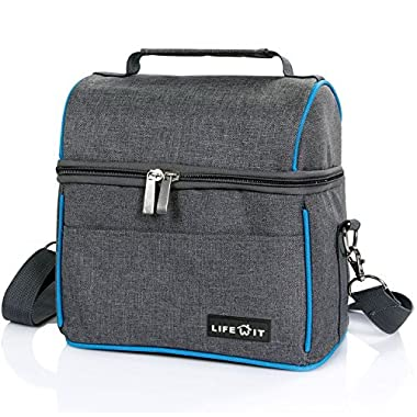 Lifewit Insulated Lunch Bag 451+002+387 (Grey)