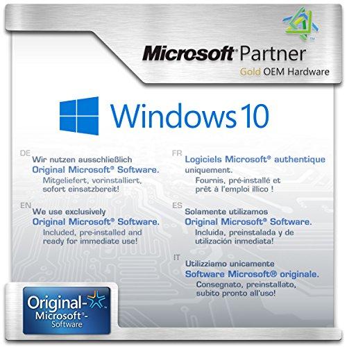 Mini-PC - ASUS PN40 / 500 GB M.2 SSD / 16GB RAM/Win 10 Pro - Silent-PC mit Intel-CPU 4X 2400MHz, 500 GB M.2 SSD, 16 GB DDR4 RAM, Intel UHD Grafik, AC WLAN, USB 3.1, HDMI, Bluetooth 5.0, Windows 10