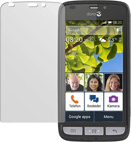 dipos I 6X Schutzfolie matt kompatibel mit Doro Liberto 820 Mini Folie Bildschirmschutzfolie