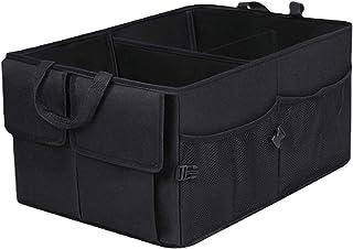 NC Car Boot Organiser Collapsible Storage Bag, 60 Liters Large Volume- 56cm X 39cm X 27cm (Unfolded)