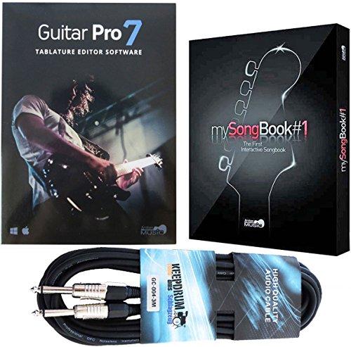 Arobas Guitar Pro 7 Notations Software + Mysongbook#1 + Kabel