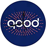 AZHOULIULIU Co.,ltd Reloj de Pared Moderno Reloj Redondo Grande de 4 círculos Good Starburst