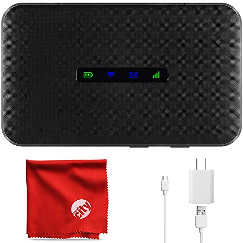 ZTE MAX Connect Unlocked Mobile WiFi Hotspot 4G LTE GSM Router MF928,...