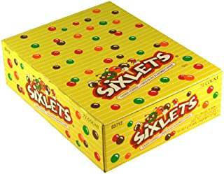 Sixlets Candy Coated Chocolate Candy 72 Tubes