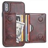KIHUWEY iPhone Xs Wallet Case iPhone X Wallet Case Credit Card...