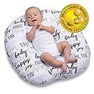 Boppy Original Newborn Lounger, Hello Baby Black and Gold