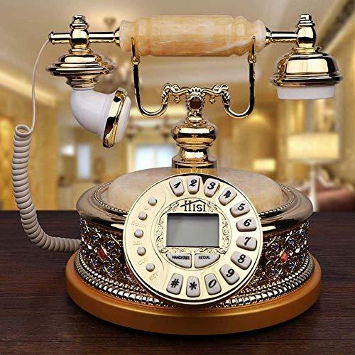 Vintage Telefon, Retro Festnetz Haus Home Telefonhörer, Antike Telefone Home Festes Büro Telefon Vintage Antike Retro Telefone 16 Gruppen von Musik Klingeltönen