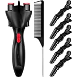 7 Pieces Automatic Hair Braider Set, Includes...