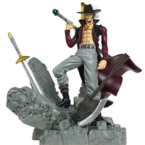 CoolChange One Piece Figur von Dracule Mihawk mit Schwert Kokuto Yoru, PVC