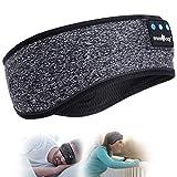 Sleep Headphones,Bluetooth Sport Headband Wireless Music Sleeping Headphones with IPX6 Waterproof Speakers Long