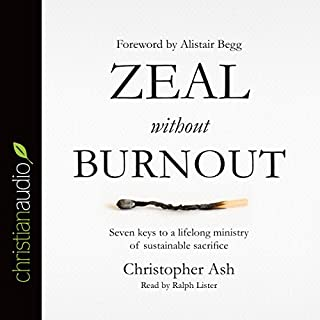 Zeal Without Burnout audiobook cover art