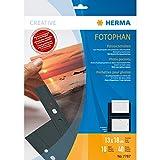HERMA Fotophan-Sichthüllen 13x18cm quer schwarz VE=10 Hüllen
