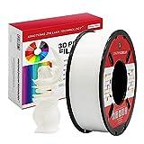 PLA Weiß 3D Drucker Filament 1.75mm 3D-Druckmaterialien für 3D Stift Druck Maßgenauigkeit +/- 0.02mm 1kg / Spule