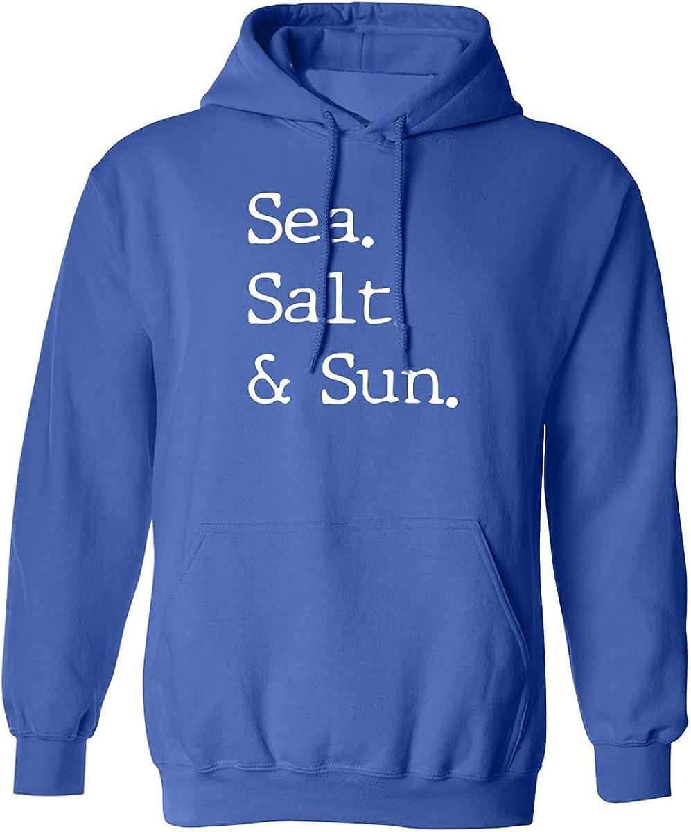 Sea. Salt. & Sun. Adult Hooded Sweatshirt