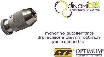 OPTIMUM-Portabroca Autoajustable de Precisión 0-13 B16 Mm