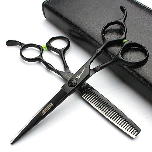 6 pulgadas negro peluquería tijeras salón salón peluquería...