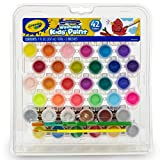 Crayola Kids Washable Paint Set, 42 Ct., Gift for Kids, Ages 3, 4, 5, 6, 7, Assorted