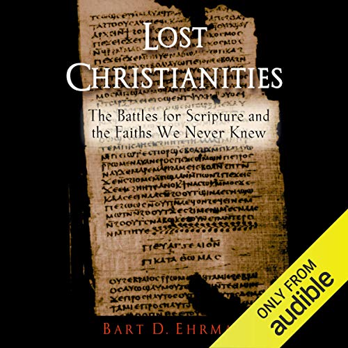 Page de couverture de Lost Christianities